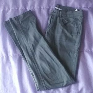 Girls Army Green Pant - H&M, Size 13-14Y